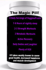 "<strong><span style=""color:#d608d6"">The Magic Pill</strong></span>"