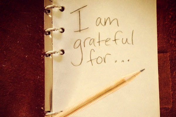 I am grateful for..