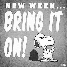 new week...bring it on